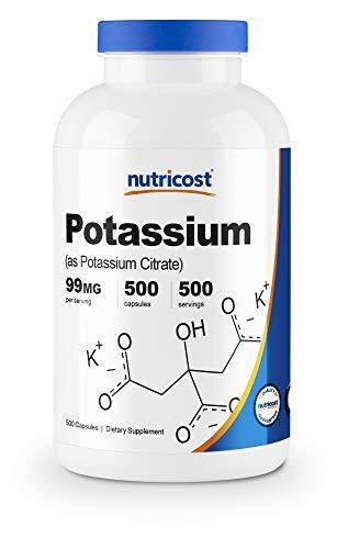 Nutricost Potassium Citrate 99mg, 500 Capsules