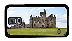 Hipster cassette Samsung Galaxy S5 Cases glengorm castle PC Black for Samsung S5 by ruishername