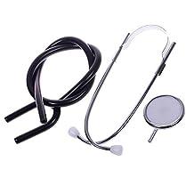 EDARENUS Black Single Head EMT Doctor Nurse Medical Student Health Blood Stethoscope Free Shipping