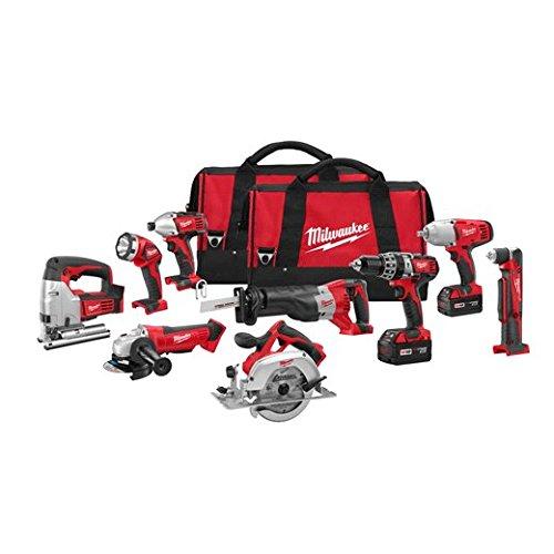 Milwaukee 2696-29 M18 Combo 9 tool Kit