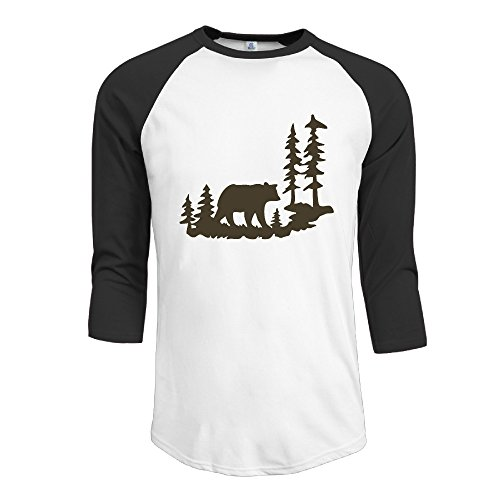 Woodland 3/4 Sleeve T-shirt - 8