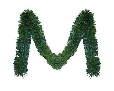 30' Long Needle (Brite Star Tinsel Garland Display 30' Green)