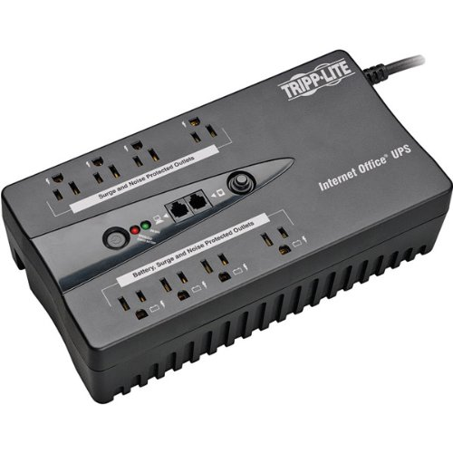 Tripp-Lite Genuine 8-Outlet Internet 550VA/300-Watt Office USB UPS System from Tripp-Lite