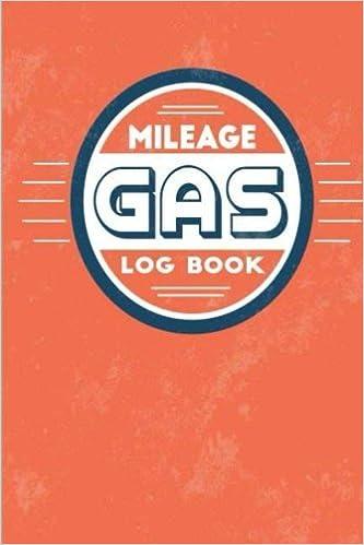 ab1bd16c7d00 Gas Mileage Log Book: Automobile Auto Car Vehicle Record Tracker ...