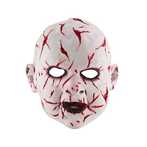 Hophen Scary Ghost Baby Halloween Cosplay Costume Mask For Masquerade Parties Costume Parties Carnival -
