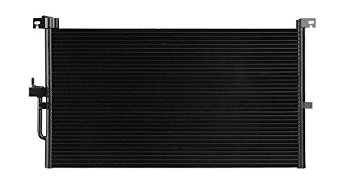 AC A/C CONDENSER FOR JAGUAR FITS X-TYPE 2.5 3.0 V6 6CYL 3140 by Sunbelt Radiators