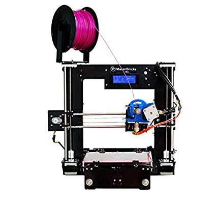 Makerbricks I3C 3D Printer  Black  3D Printers