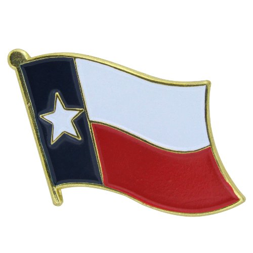US Flag Store Texas Flag Lapel Pin (Store Garden Houston)