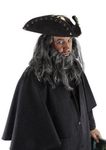 elope Disney Blackbeard Hat, Black, One (Disney Blackbeard Hat)