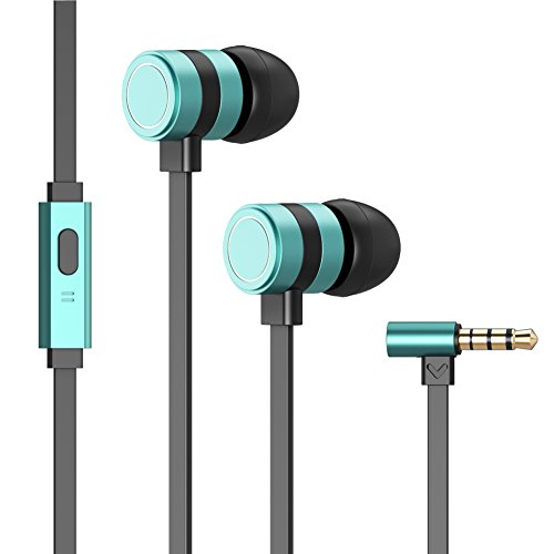 Headphones, Besiva in-Ear Earbuds Noise Isolation Headsets H