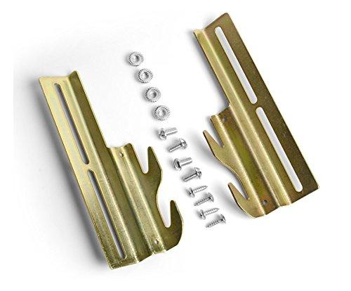 Mantua Manufacturing A-HOOK Mantua Bolt-on to Conversion Brackets, Silver by Mantua Manufacturing