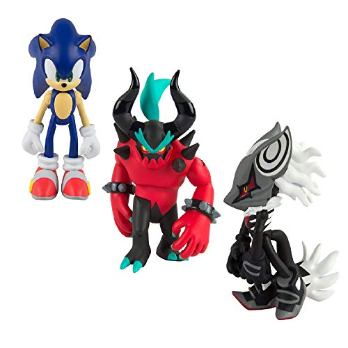 """Sonic T22050A3 Classic 3"""" Collector Figure, Pack of 3"""