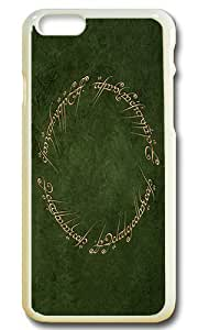 """6 Case, Iphone 6 Case - Lord Of Ring Extra Slim Fit Protective Hard Case for iPhone 6 (4.7"""") White J-15"""