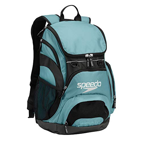 Speedo Printed Teamster 35L Backpack, Light Blue/Black, 1SZ