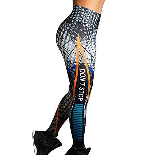 Survtement Imprime Pantalons Aptitude Femme Fit Comme Casual Haute de pour Taille Vtements Lettre Sports Slim Montr Mode Jeggings Pantalon Pantalon qf1fxEYg
