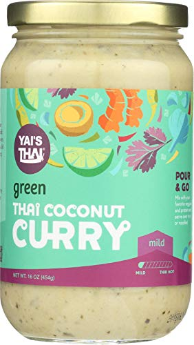 (Yai's Thai Green Coconut Curry Sauce 16 Ounce)