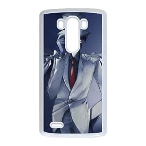 LG G3 Phone Case Cover White Detective Conan EUA15975349 Phone Case Active Hard