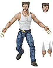 Marvel MVL LEGENDS EXCL WKRP CINCINNATI Series Wolverine Collectible Action Figure Toy, 6 inch