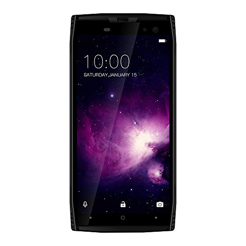 DOOGEE S50 - 5.7 pulgadas (relación 18: 9) IP68 impermeable smartphone, 2.5GHz Octa-Core 6GB + 128GB, cámaras cuádruples, batería de 5180mAh Carga rápida: ...