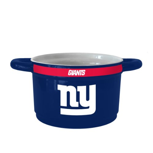 NFL New York Giants Sculpted Gametime Bowl, 23-Ounce
