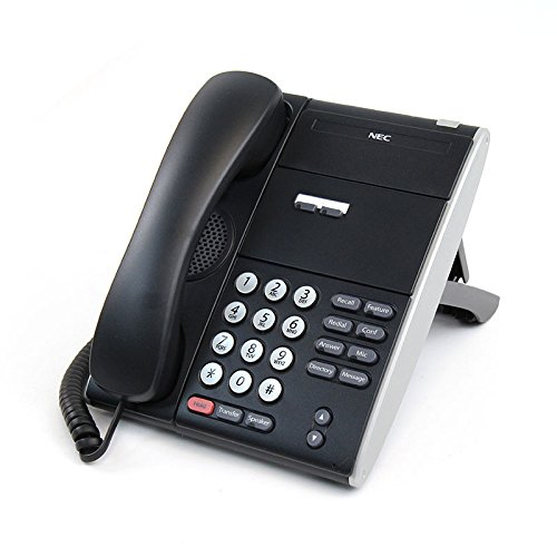 NEC ITL-2E-1 (BK) - DT710 - 2 Button NON DISPLAY IP Phone Black Stock# 690000 ()
