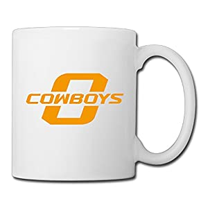 Christina Oklahoma State Football Logo Ceramic Coffee Mug Tea Cup White