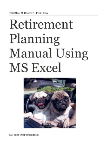 amazon com retirement planning manual using ms excel ebook thomas