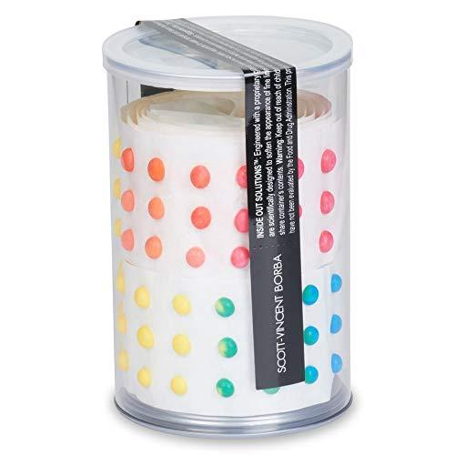 Scott-Vincent Borba Multi-fruit Flavored Glittered Glow-Dots, 10 ct.