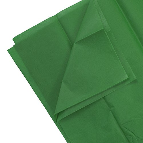 - JAM PAPER Tissue Paper - Green - 10 Sheets/Pack