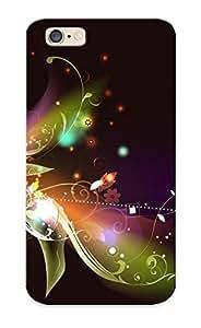 High Quality Amklaw-292-cvvksoj Stylized Flower Tpu Case For Iphone 6
