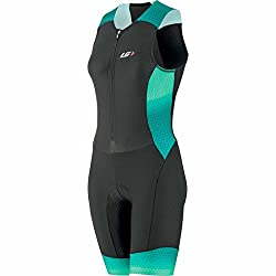 Louis Garneau Pro Carbon Suit - Women's Black/Candy Purple, L