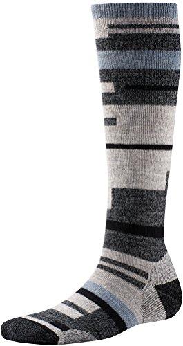 (Smartwool Techno Tango Knee High Charcoal Heather M Unisex Socks)