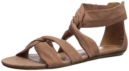 Report Women's Laci Flat Sandal, Dusty Rose, 8 Medium US (Flat Womens Report Shoes)