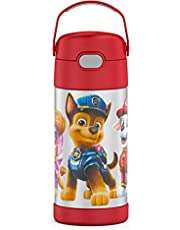 THERMOS FUNTAINER 12 Ounce Stainless Steel Kids Bottle, Paw Patrol Movie