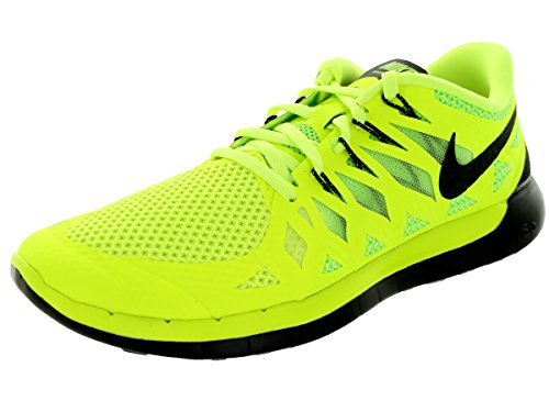 Nike Free 5.0 Men Laufschuhe volt-black-electric green-photo blue - 45,5
