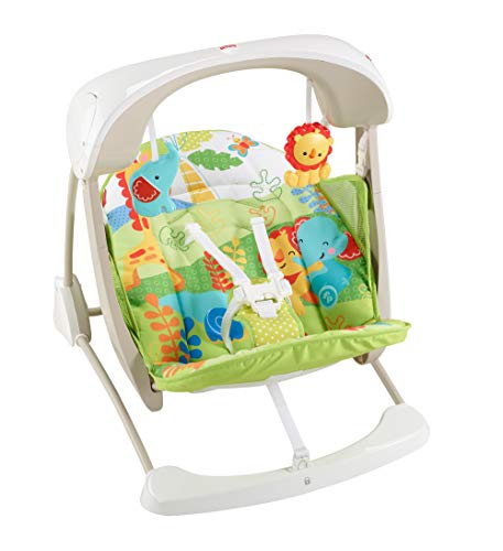 Fisher-Price Take-Along Swing and Seat, Rainforest Friends -
