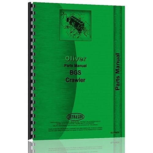 New Oliver Cletrac BGS Crawler Parts Manual