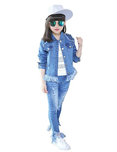 Denim Jacket Set - 8
