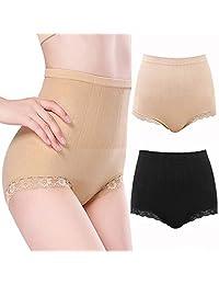 Womens Postpartum Underwear Shapewear Tummy Control Panties Compression lace Lingerie High Waist Briefs
