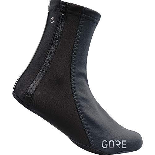 GORE WEAR Unisex Windproof Overshoes, C5 WINSTOPPER Thermo Overshoes, Size: 9-10.5, Color: Black, -