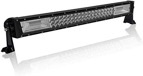 Aufun 270W Arbeitsscheinwerfer Auto LED Light Bar Offroad Zusatzscheinwerfer Geführtes Arbeits-Licht-Bar Nebel Licht Wasserdicht IP67 für SUV UTV ATV, 560 x 80 x 70mm