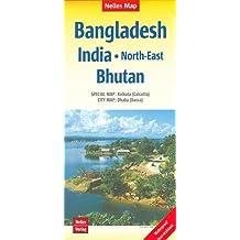 Nelles Map Bangladesh - India: Northeast, Bangladesh 1:1 500 000 (English, French and German Edition)