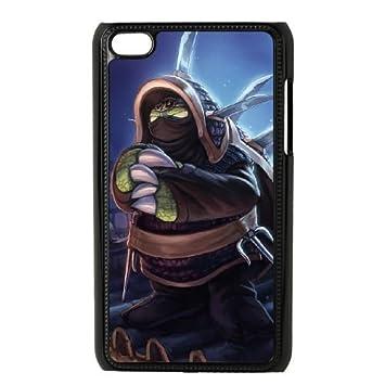 iPod Touch 4 Case Black League of Legends Ninja Rammus ...
