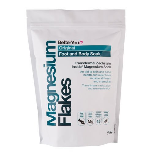 BetterYou - Magnesium Flakes - Foot and Body Soak - 1Kg