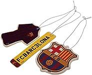 FC Barcelona Air Fresheners (Pack Of 3)