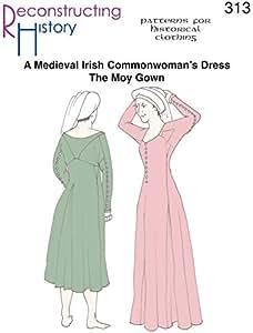 Medieval Irish Moy Gown Pattern
