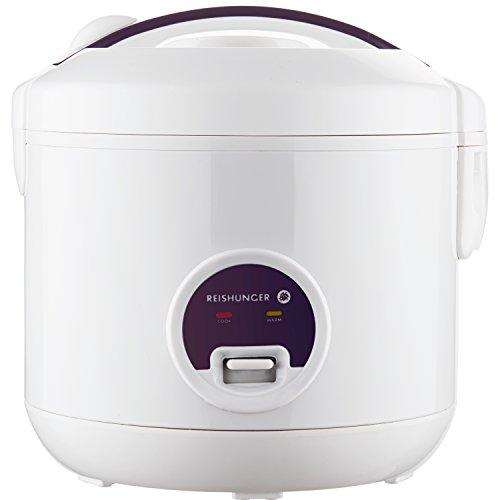 Reishunger Reiskocher mit Warmhaltefunktion, 1,2 l, 500 W, für 4 Personen