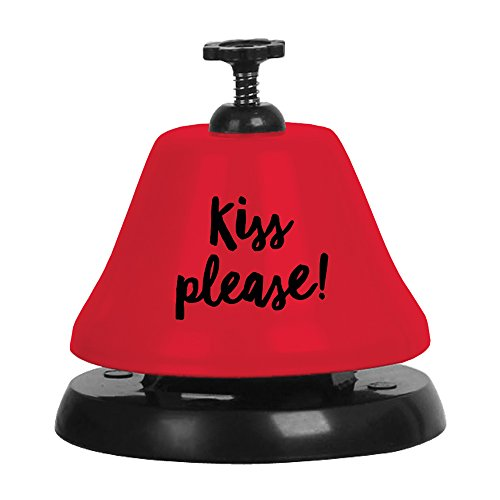 Slant Collections Red Bartop Bell Kiss Please by Slant Collections