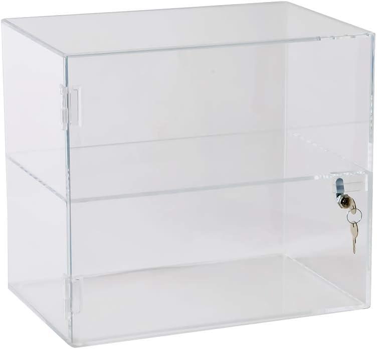 Acrylic Lock Box Counter Top Display Case
