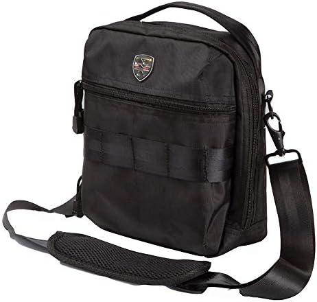 ツールバッグ パワーツールショルダーバッグ、多機能工具収納ハンドバッグの機能テクニシャンバッグ 工具収納便利 (Color : Black, Size : One size)